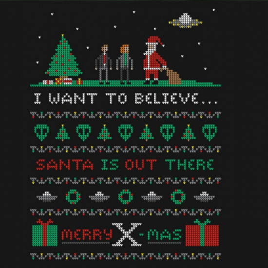 Go on you want to believe and Santa wants you to as well (image via Den of Geek - available from Tee Fury)