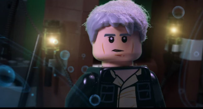 Han Solo in LEGO form (Image via YouTube)