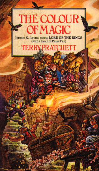 A beginners guide to Terry Pratchetts Discworld Colour of Magic
