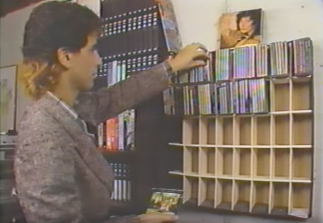 Audiophiles, according to this news report, were thrilled in 1985 with the arrival of the compact disc (image via YouTube channel Acme Streaming (c) WDIV in Detroit)