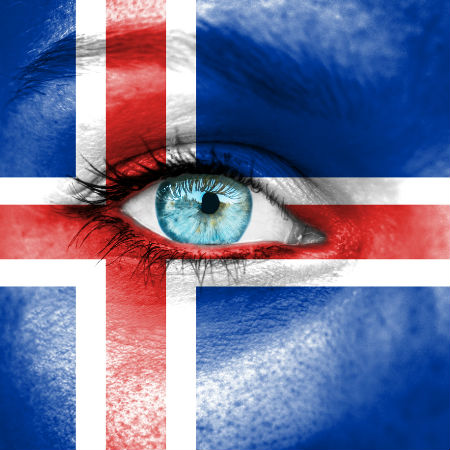 Road to Eurovision Week 2 Iceland flag