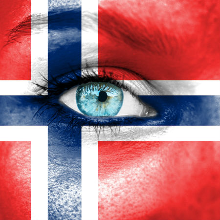 Road to Eurovision Week 6 Norway flag