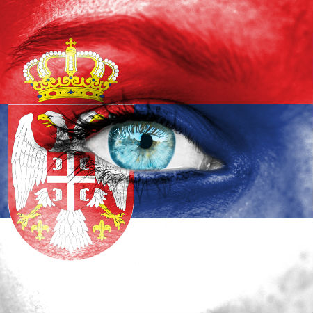 Road to Eurovision Week 6 Serbia flag
