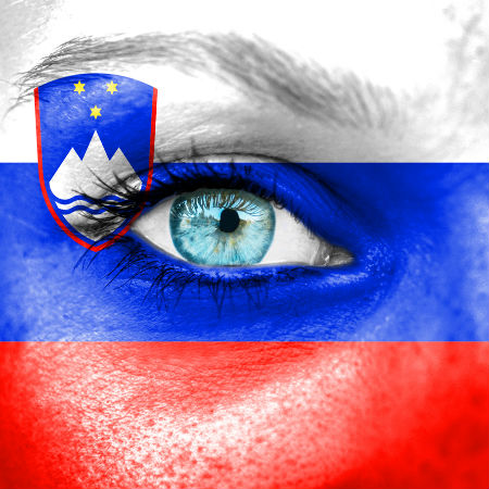 Road to Eurovision Week 6 Slovenia flag
