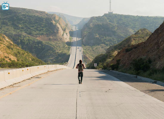 Nick just needed a walk to clear his head ... so off he went across ALL of Mexico (image via Spoiler TV (c) AMC)