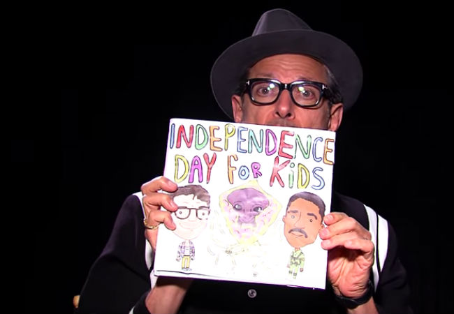Now kids settle down, Uncle Jeff has a cautionary tale to tell (image via YouTube (c) Mashable)