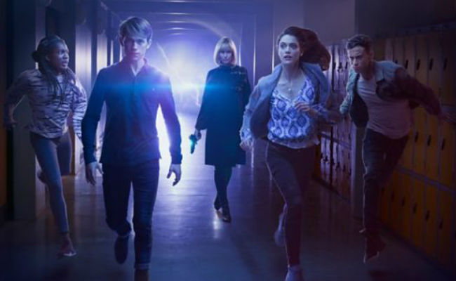 Alien dangers lurks once again and only the students of Coal Hill Academy (and Doctor Who) can stand against it (image courtesy BBC)