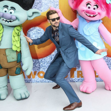Justin Timberlake (image via official Justin Timberlake page courtesy Dreamworks)