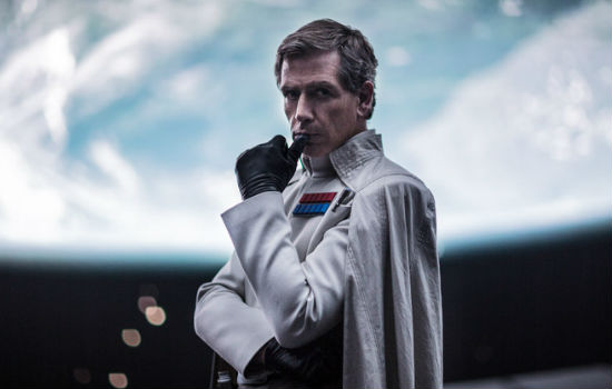 Ben Mendelsohn as imperial officer Director Orson Krennic. © Lucasfilm Ltd