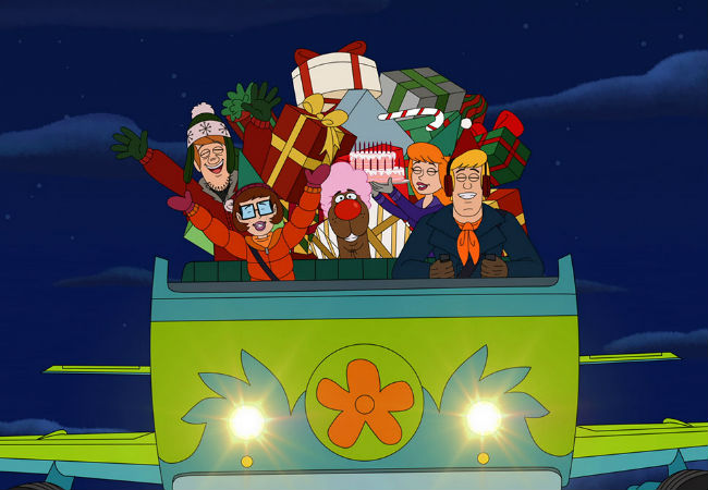 Scooby Doo Christmas.On 3rd Day Of Christmas I Watched Scary Christmas Be