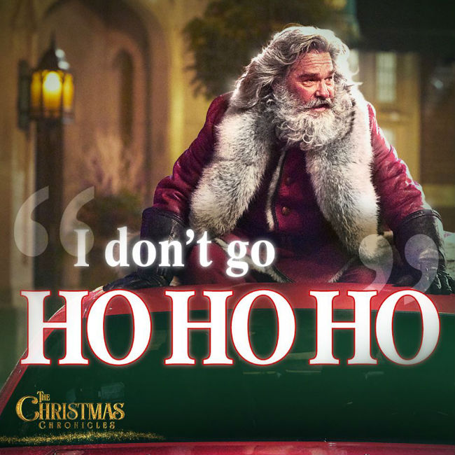 The Christmas Chronicles Poster.On 12th Day Of Christmas I Watched The Christmas